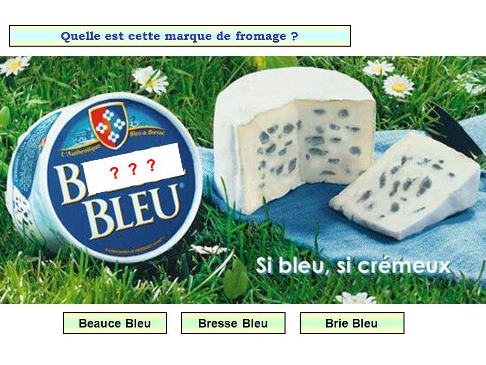 Quelle est cette marque de fromage