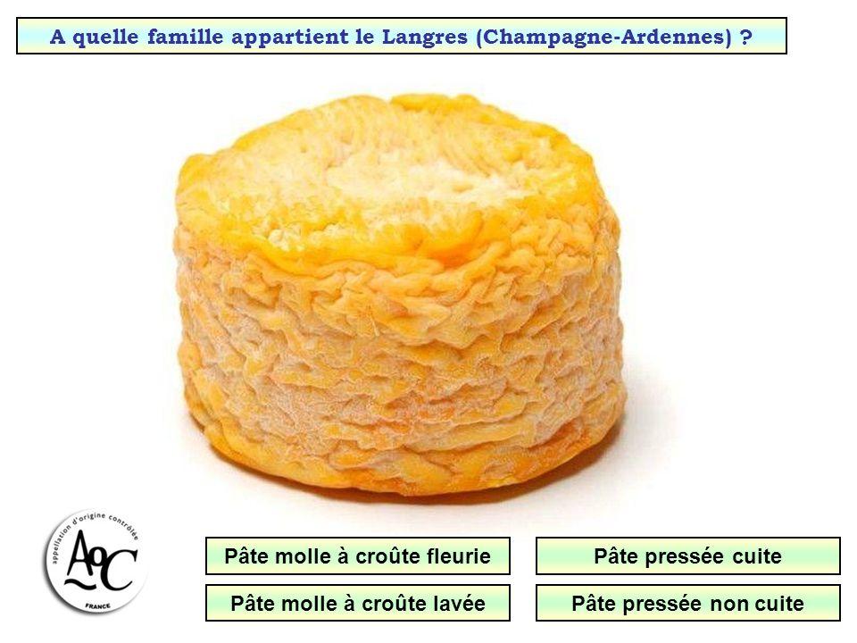 A quelle famille appartient le Langres (Champagne-Ardennes)