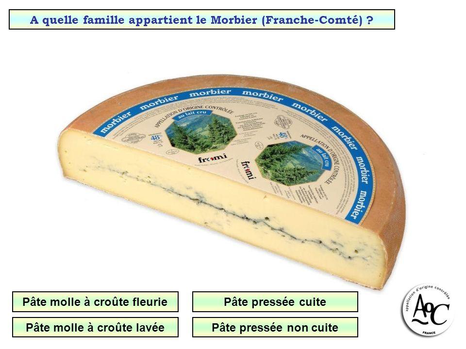 A quelle famille appartient le Morbier (Franche-Comté)
