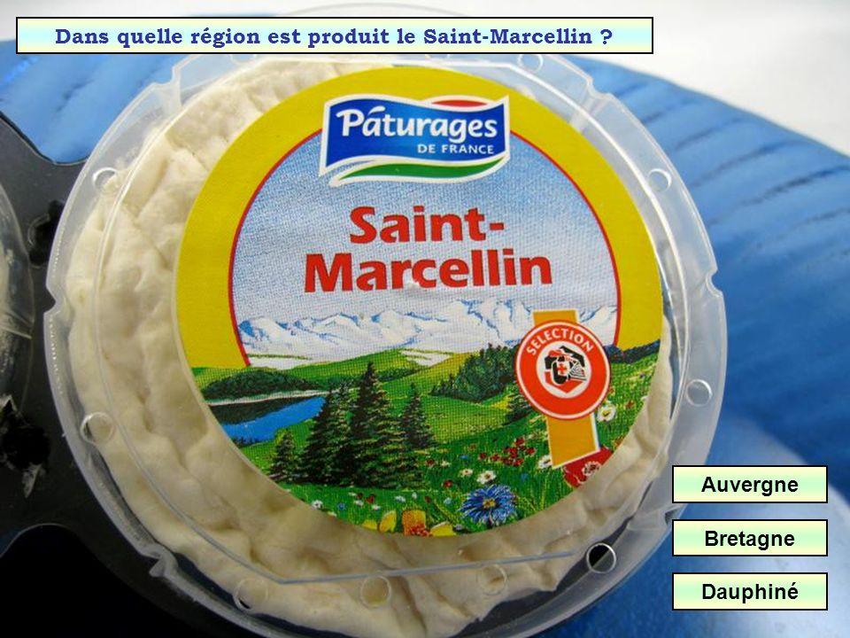 Dans quelle région est produit le Saint-Marcellin