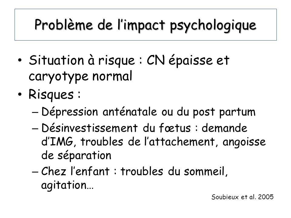 Problème de l'impact psychologique