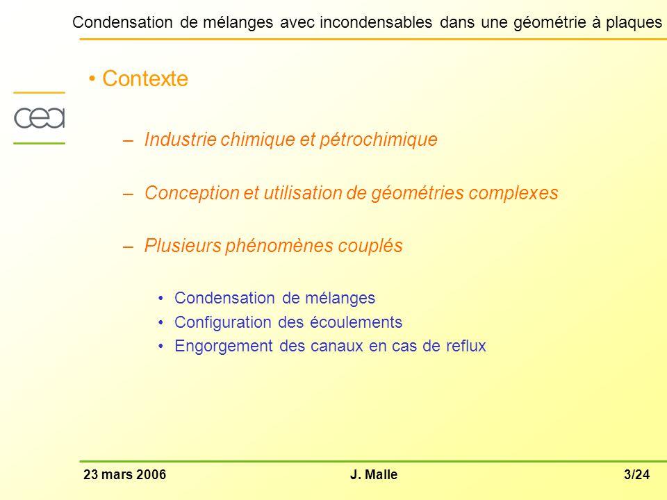 Contexte Industrie chimique et pétrochimique