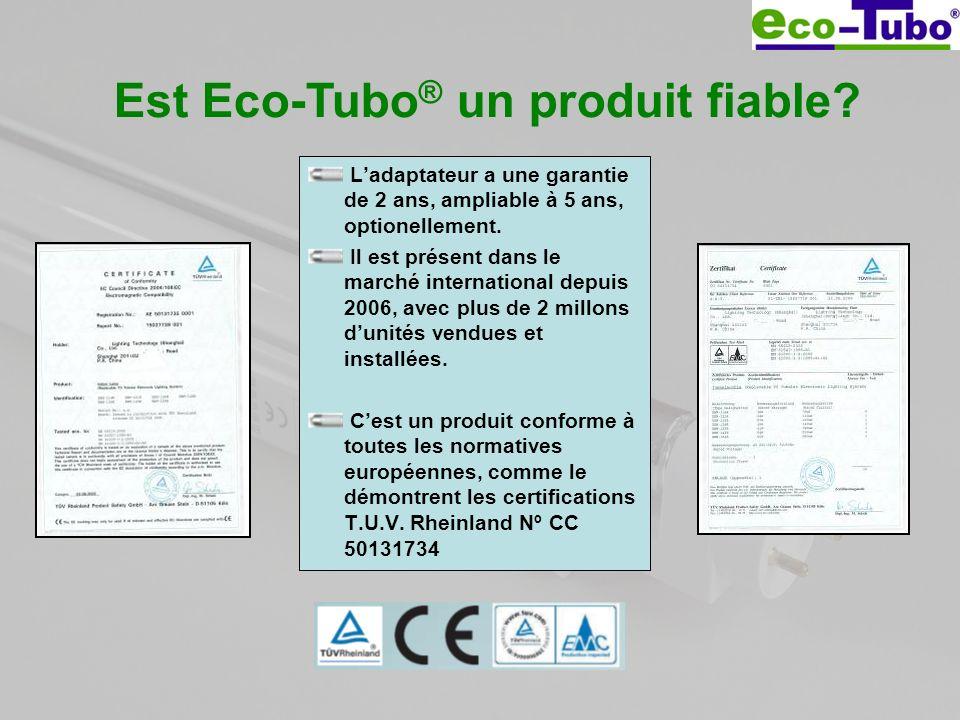 Est Eco-Tubo® un produit fiable