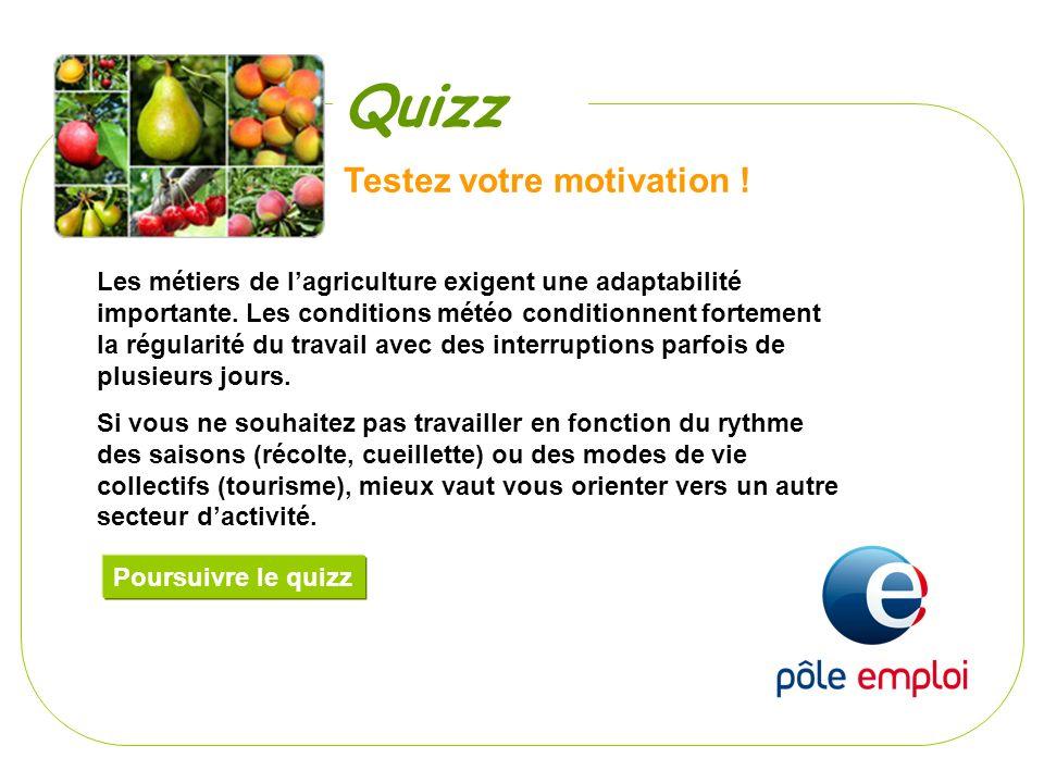 Quizz Testez votre motivation !