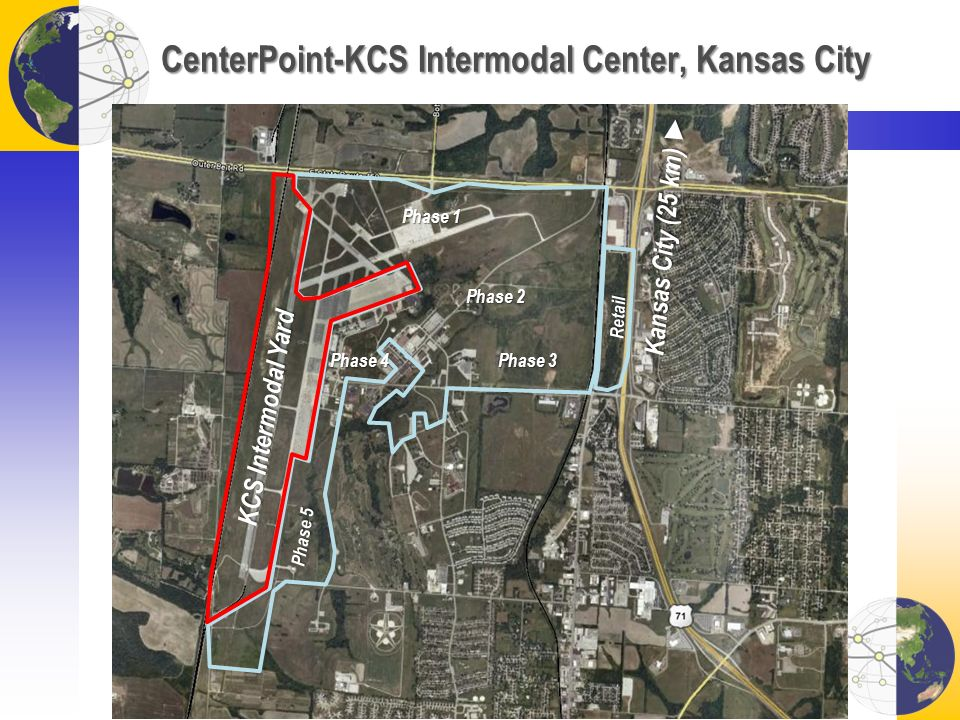 CenterPoint-KCS Intermodal Center, Kansas City