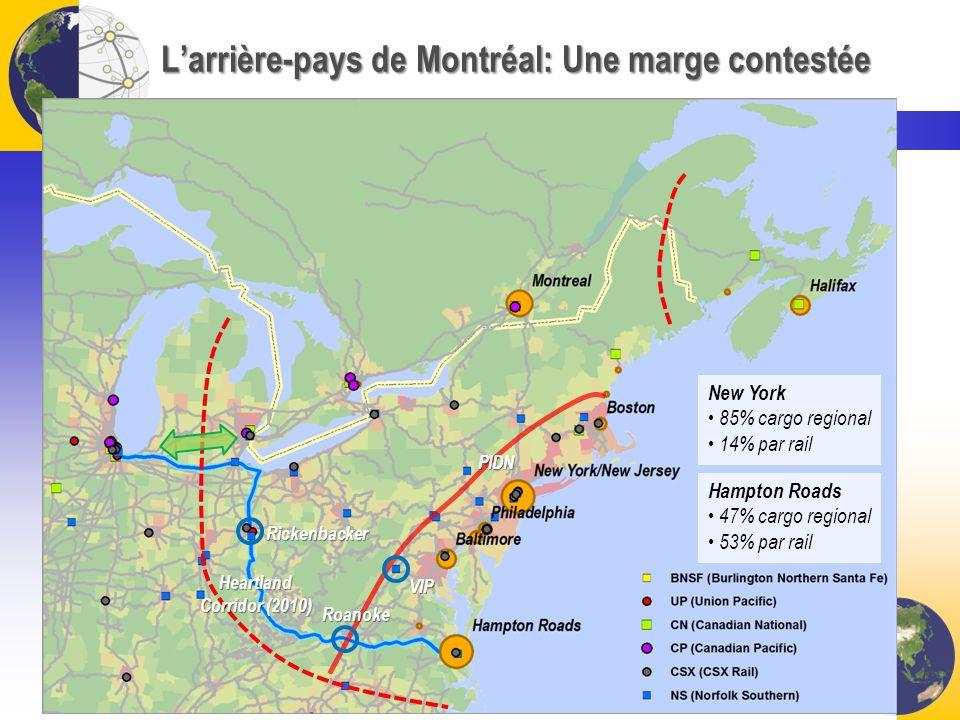 L'arrière-pays de Montréal: Une marge contestée
