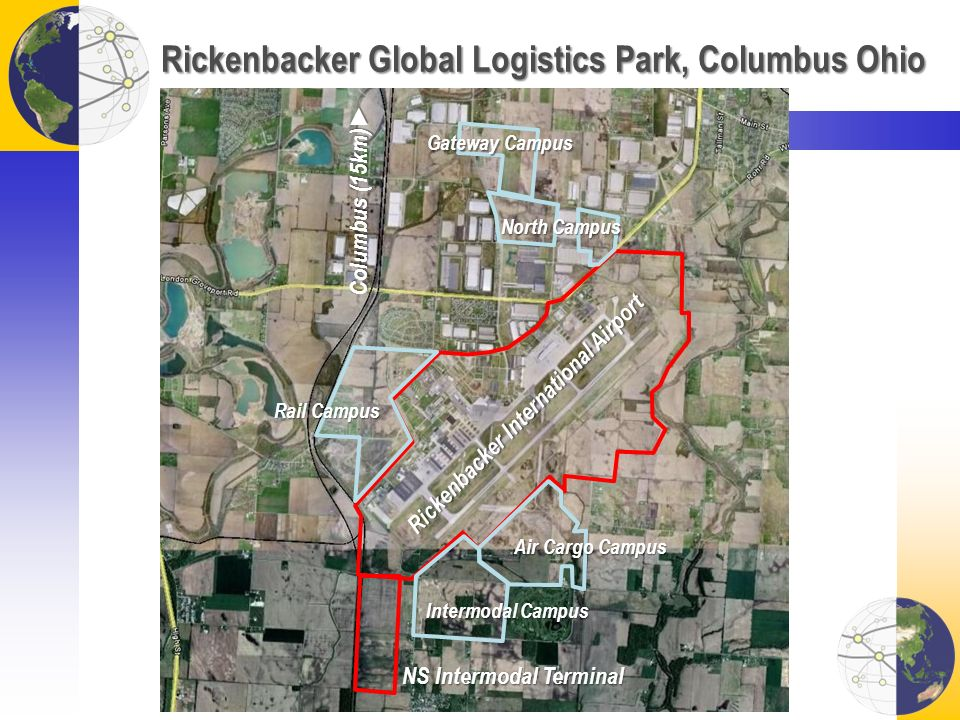 Rickenbacker Global Logistics Park, Columbus Ohio