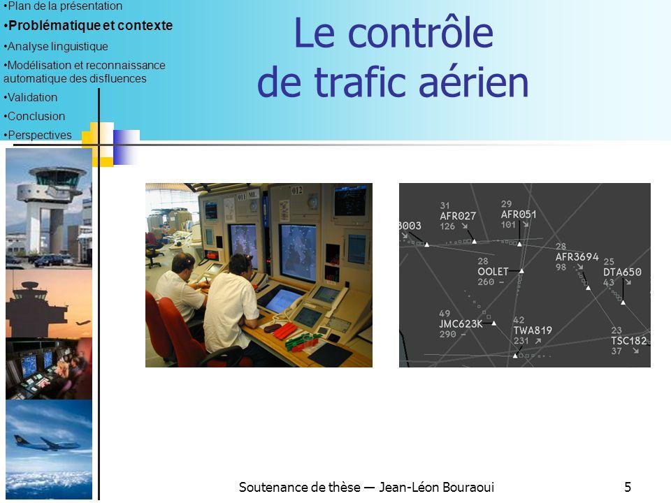 Le contrôle de trafic aérien