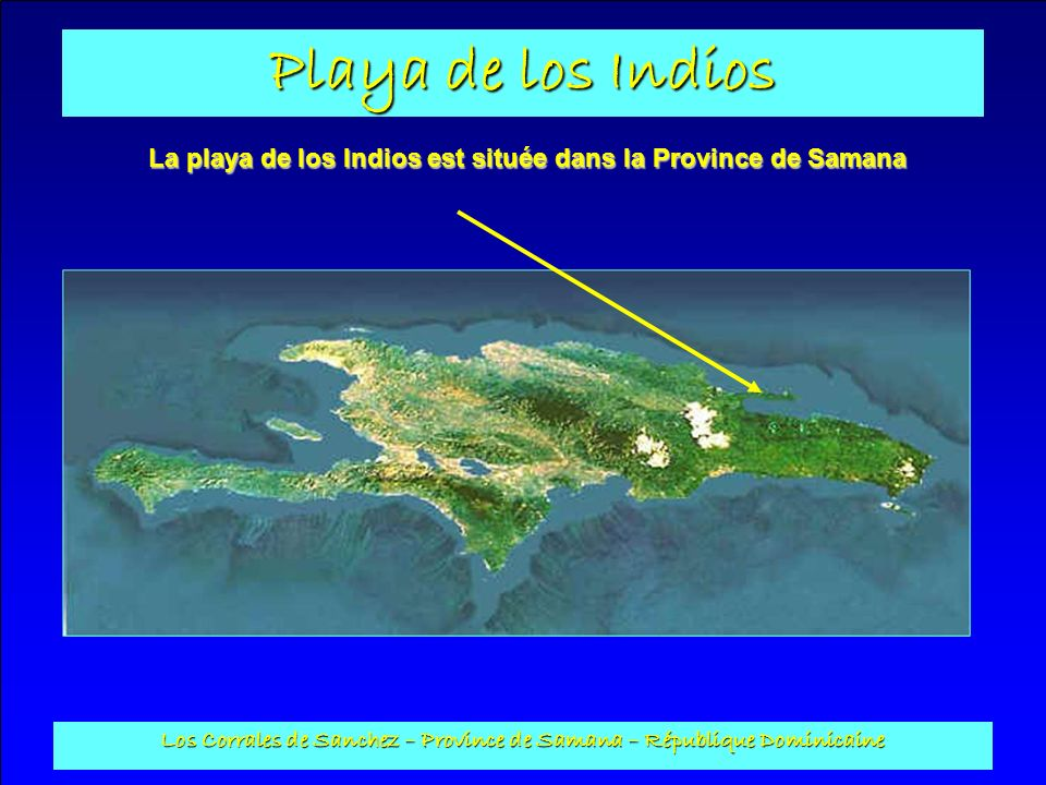 La playa de los Indios est située dans la Province de Samana
