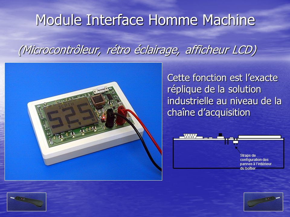 Module Interface Homme Machine