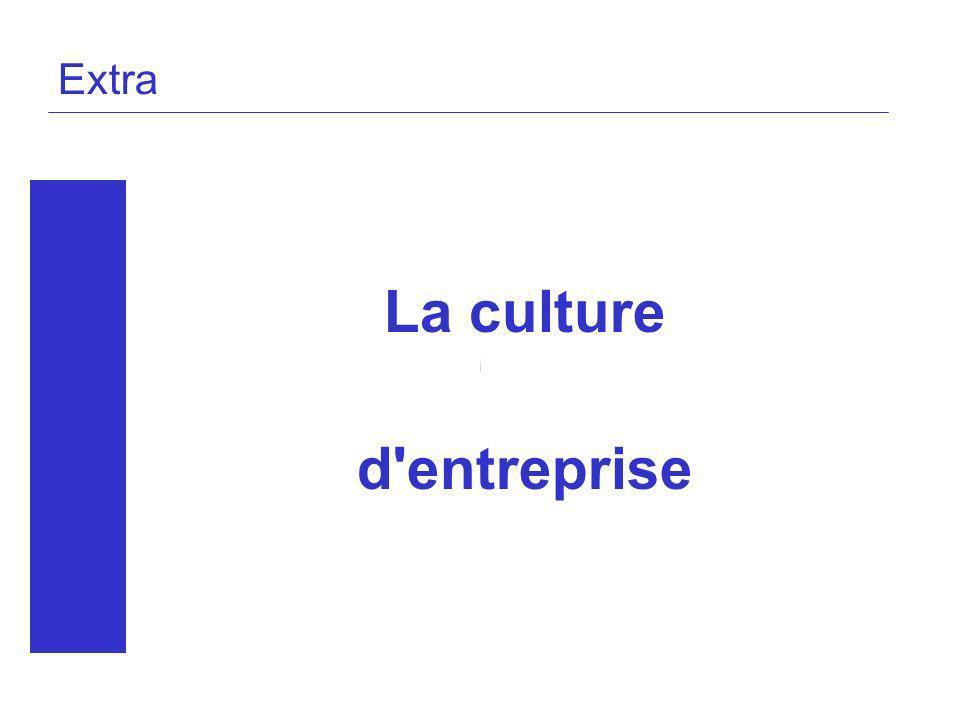 La culture d entreprise