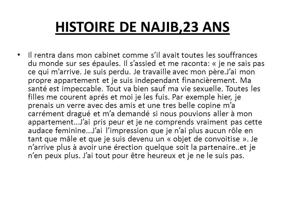 HISTOIRE DE NAJIB,23 ANS