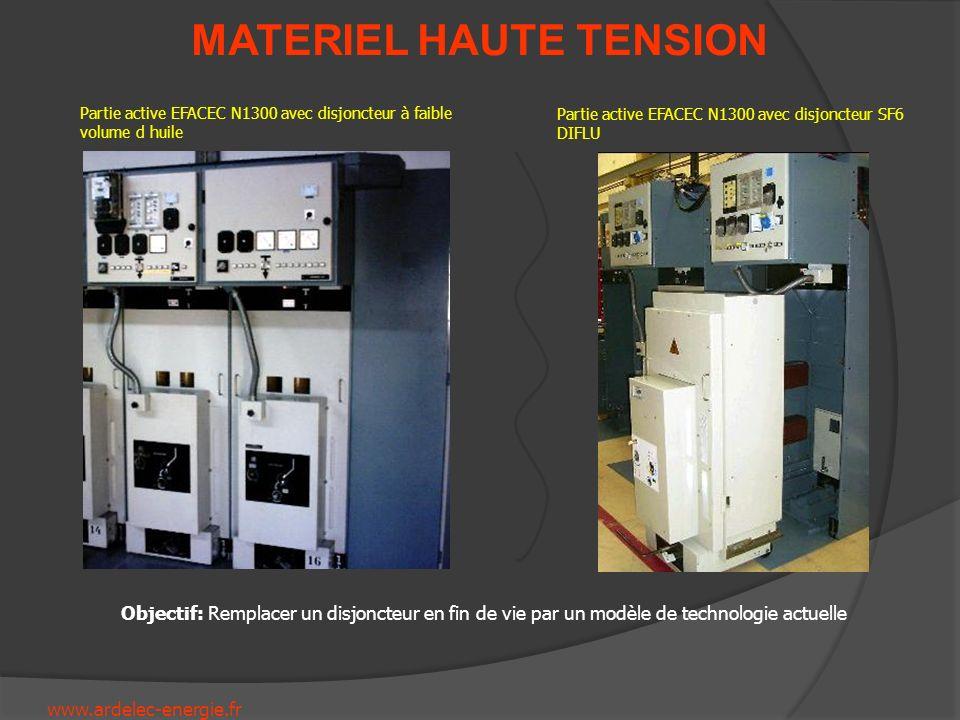 Partie active EFACEC N1300 avec disjoncteur à faible volume d huile