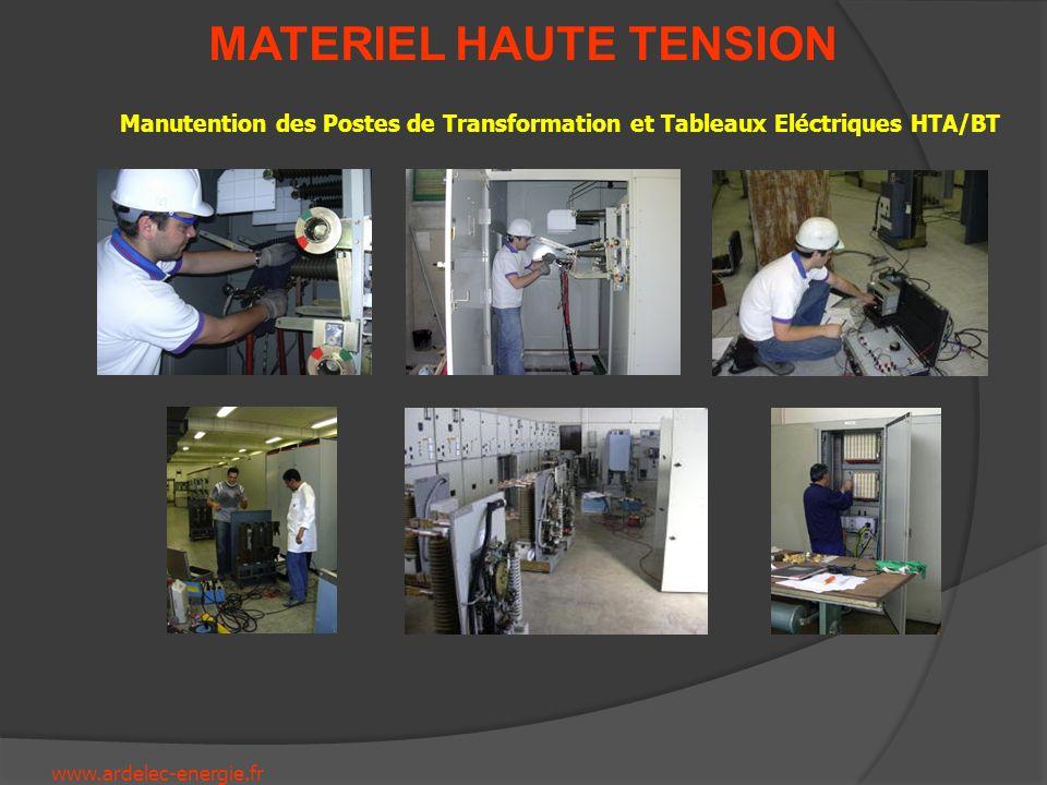 Manutention des Postes de Transformation et Tableaux Eléctriques HTA/BT