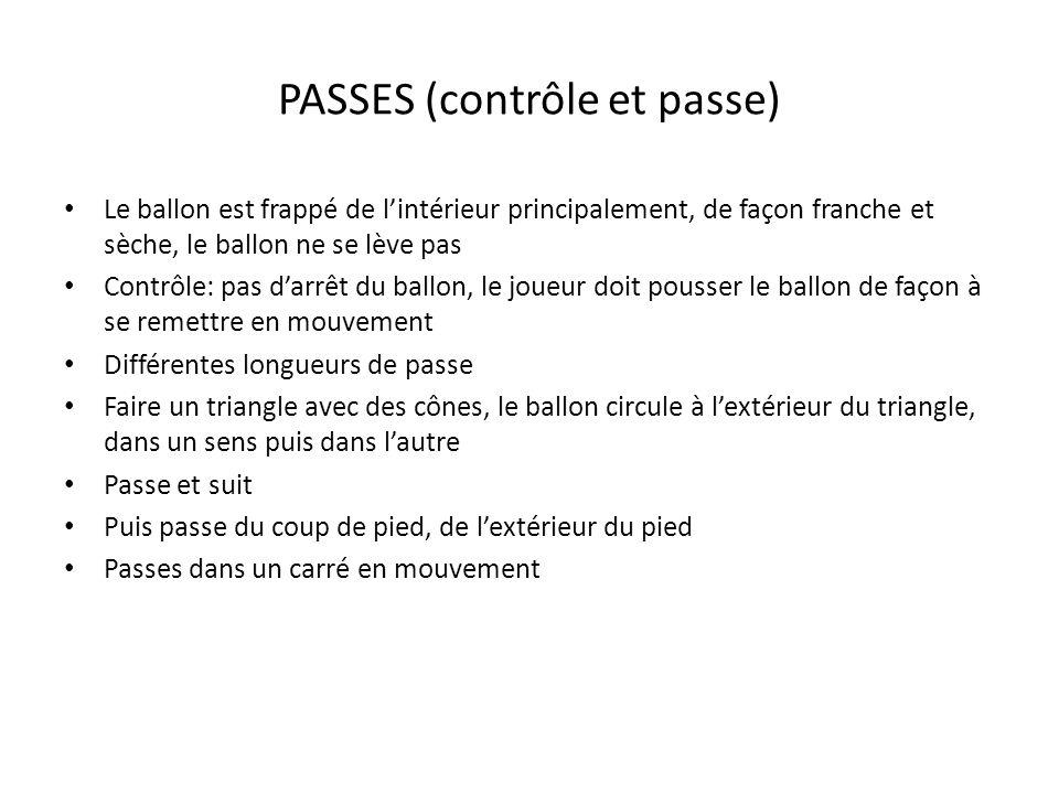 PASSES (contrôle et passe)