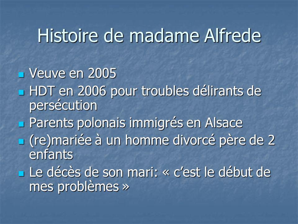 Histoire de madame Alfrede