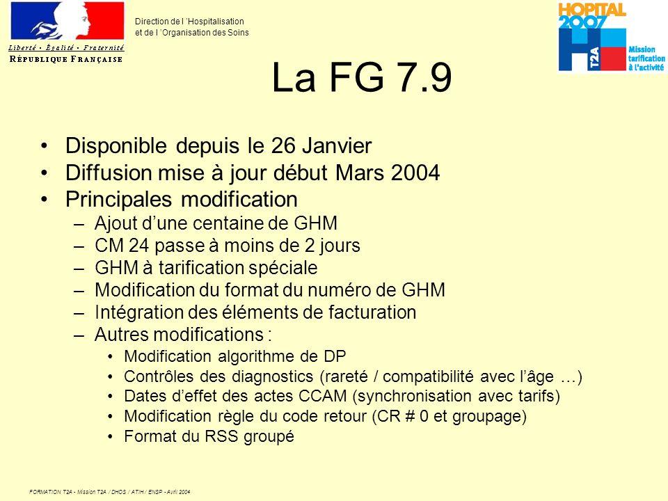 La FG 7.9 Disponible depuis le 26 Janvier