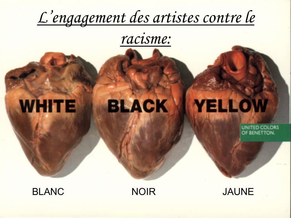 Super L'engagement des artistes contre le racisme: - ppt video online  HB09
