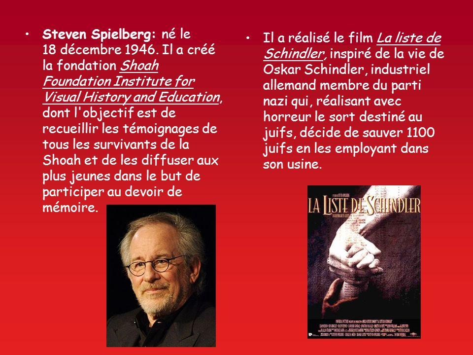 Steven Spielberg: né le 18 décembre 1946