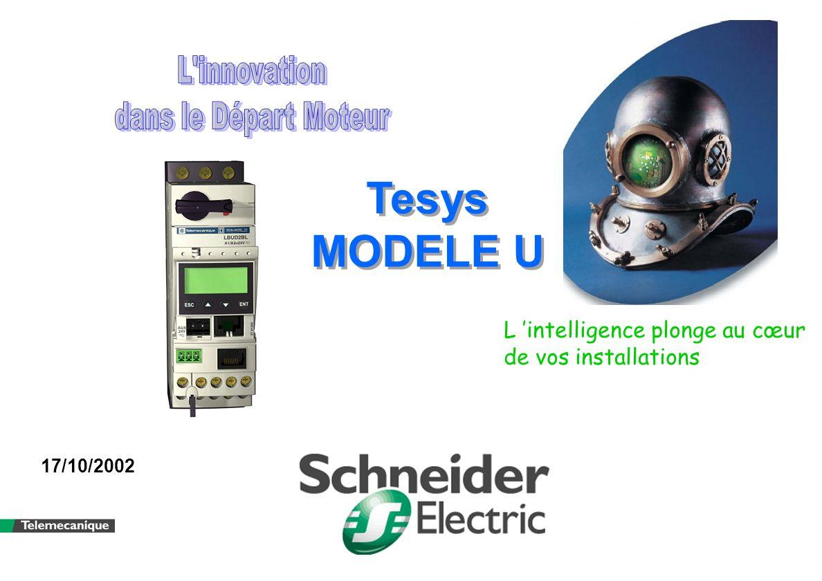 Tesys MODELE U L innovation dans le Départ Moteur