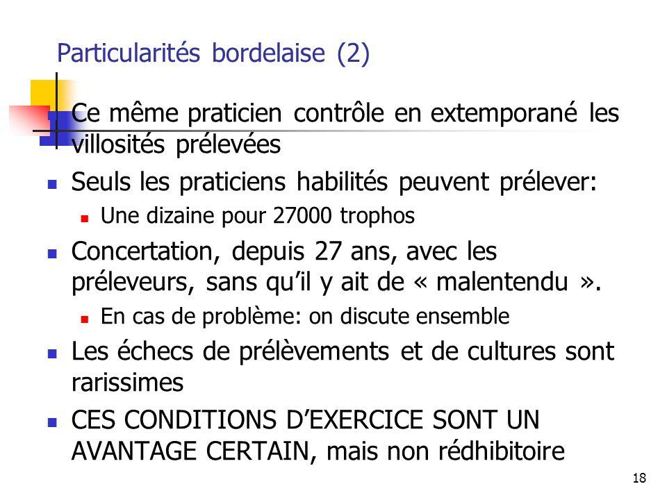 Particularités bordelaise (2)