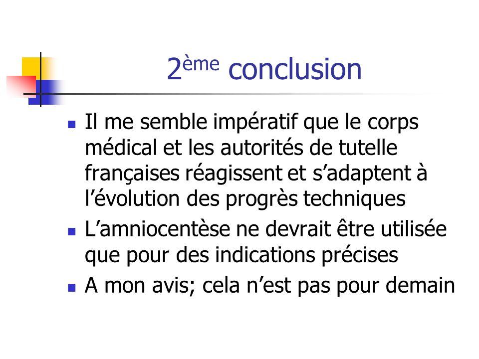 2ème conclusion