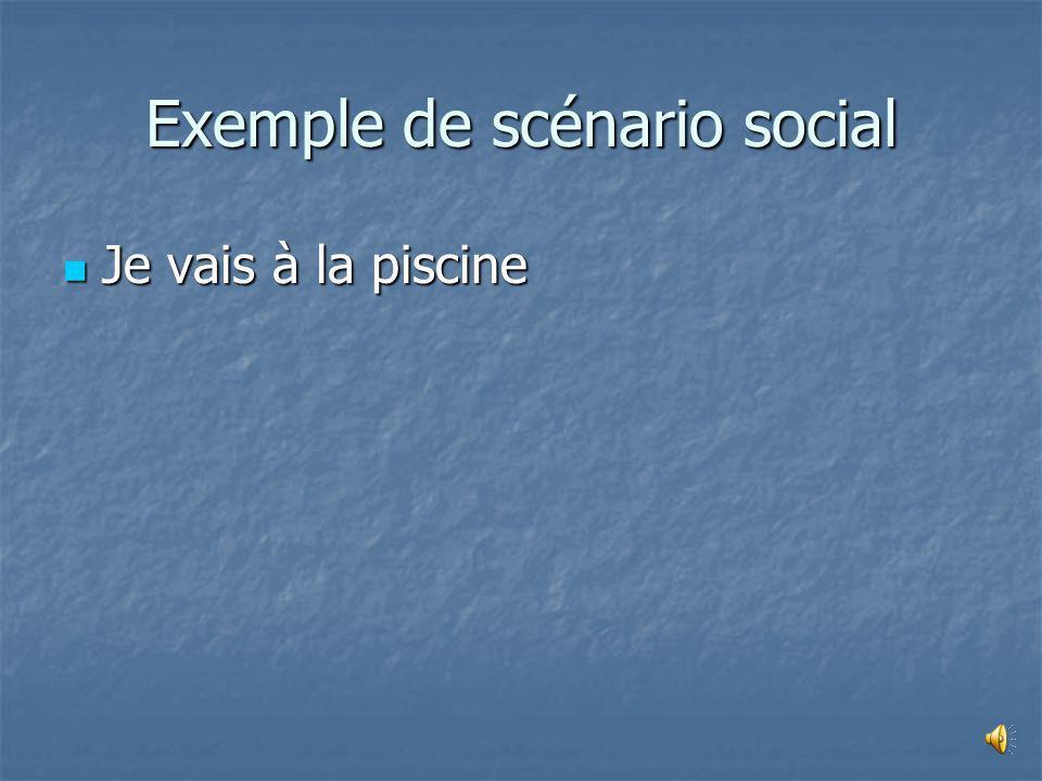 Exemple de scénario social