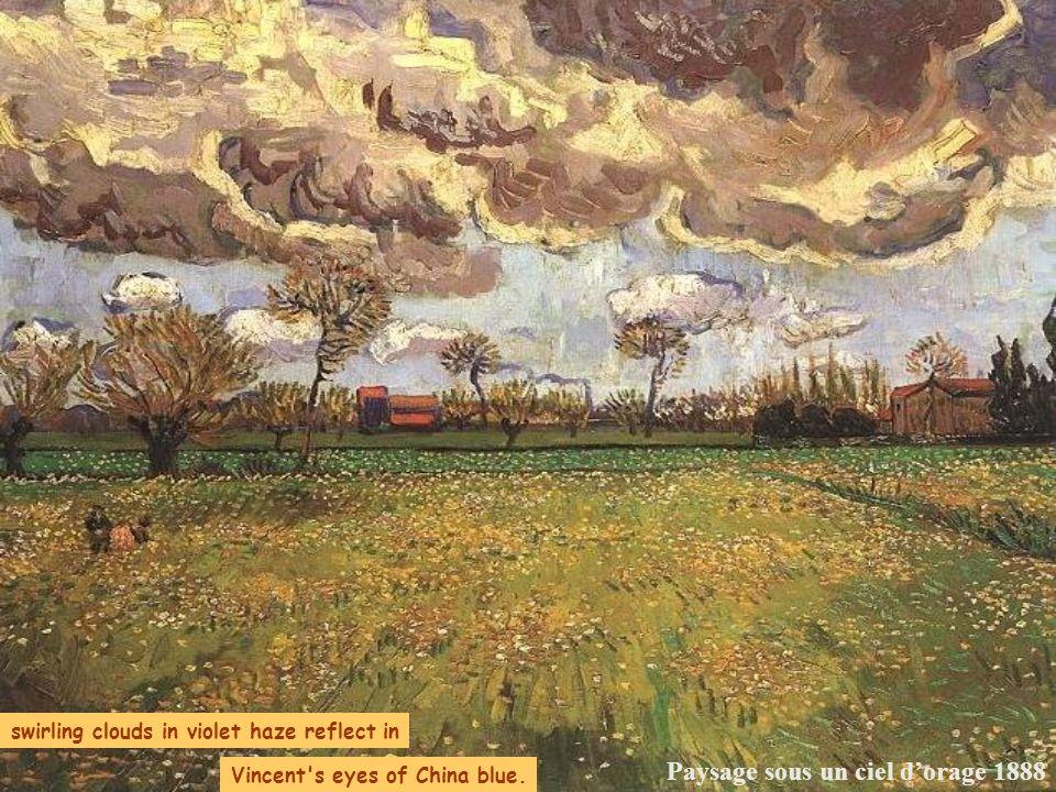 Paysage sous un ciel d'orage 1888