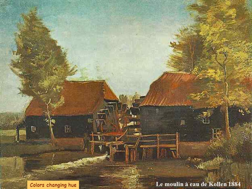 Le moulin à eau de Kollen 1884