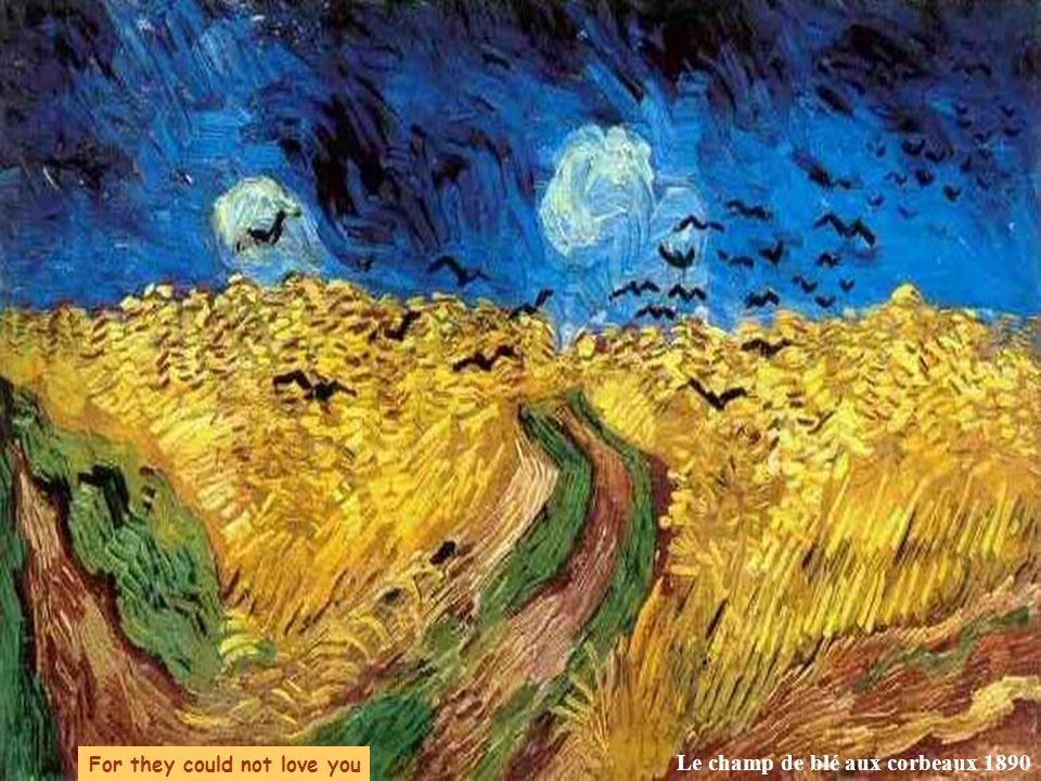 Le champ de blé aux corbeaux 1890