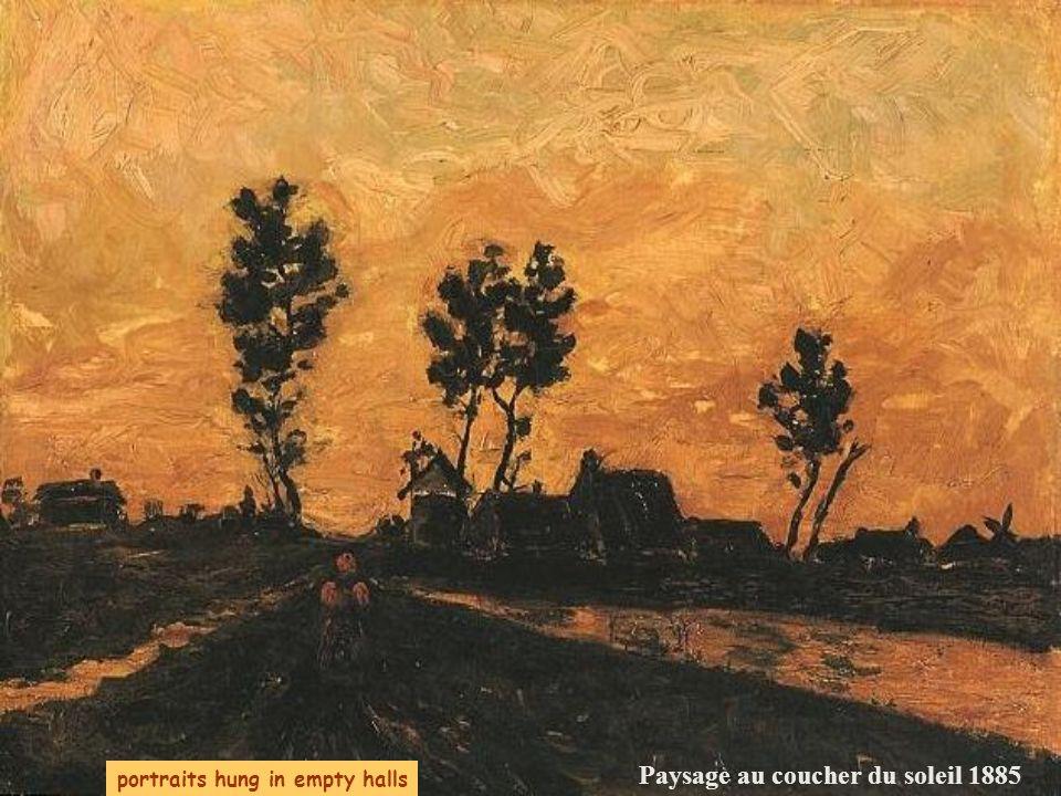 Paysage au coucher du soleil 1885