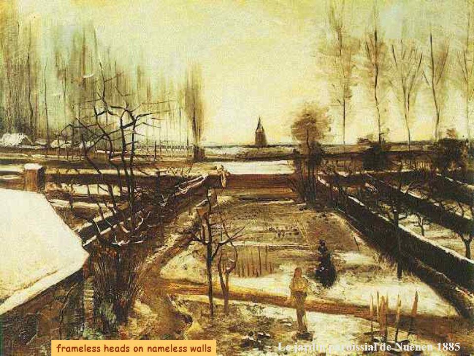 Le jardin paroissial de Nuenen 1885
