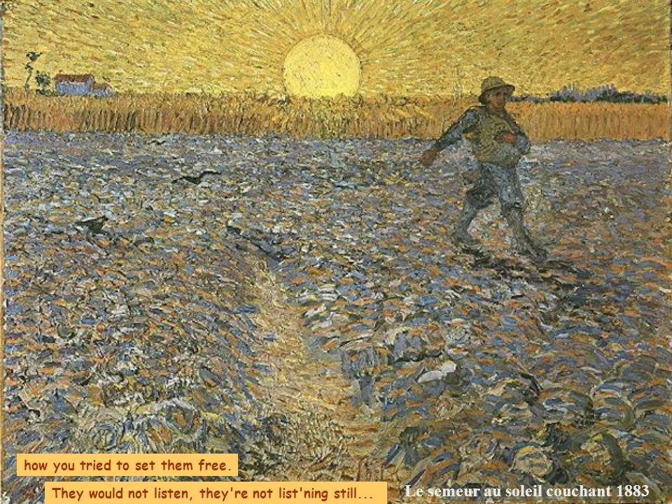 Le semeur au soleil couchant 1883