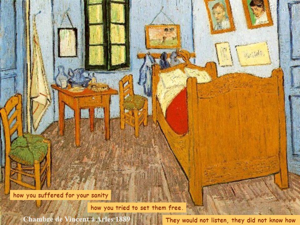 Chambre de Vincent à Arles 1889