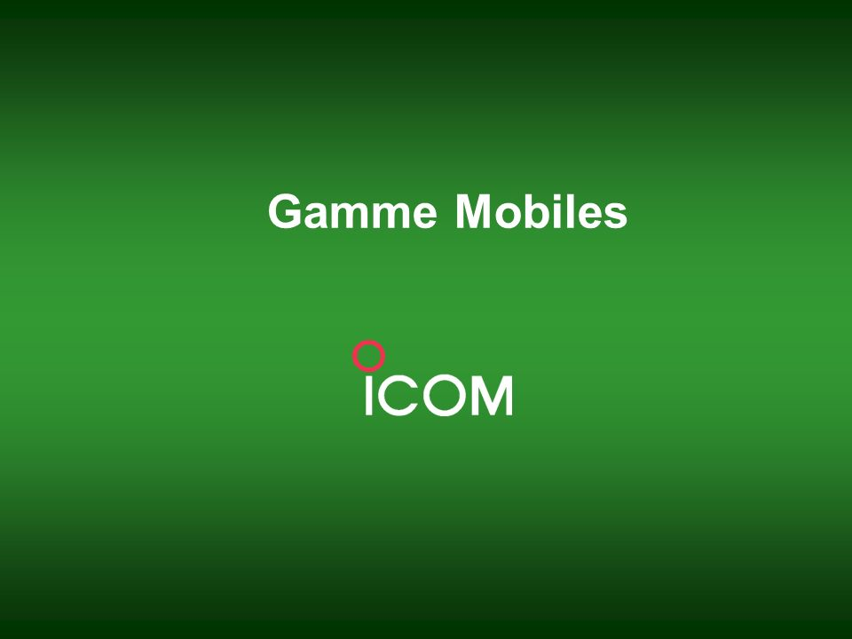 Gamme Mobiles
