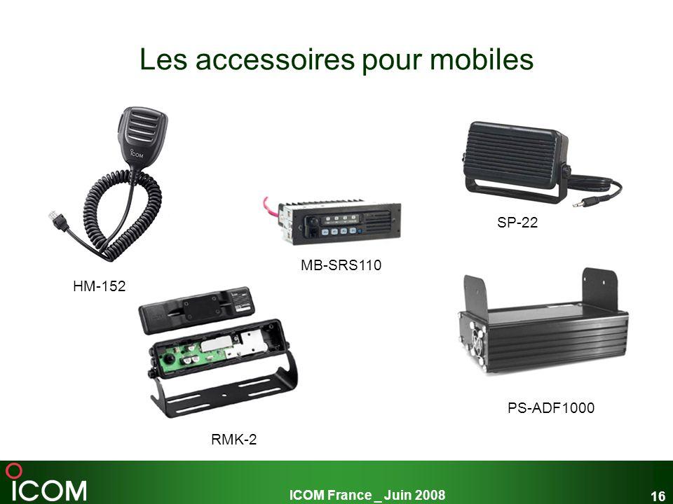 Les accessoires pour mobiles