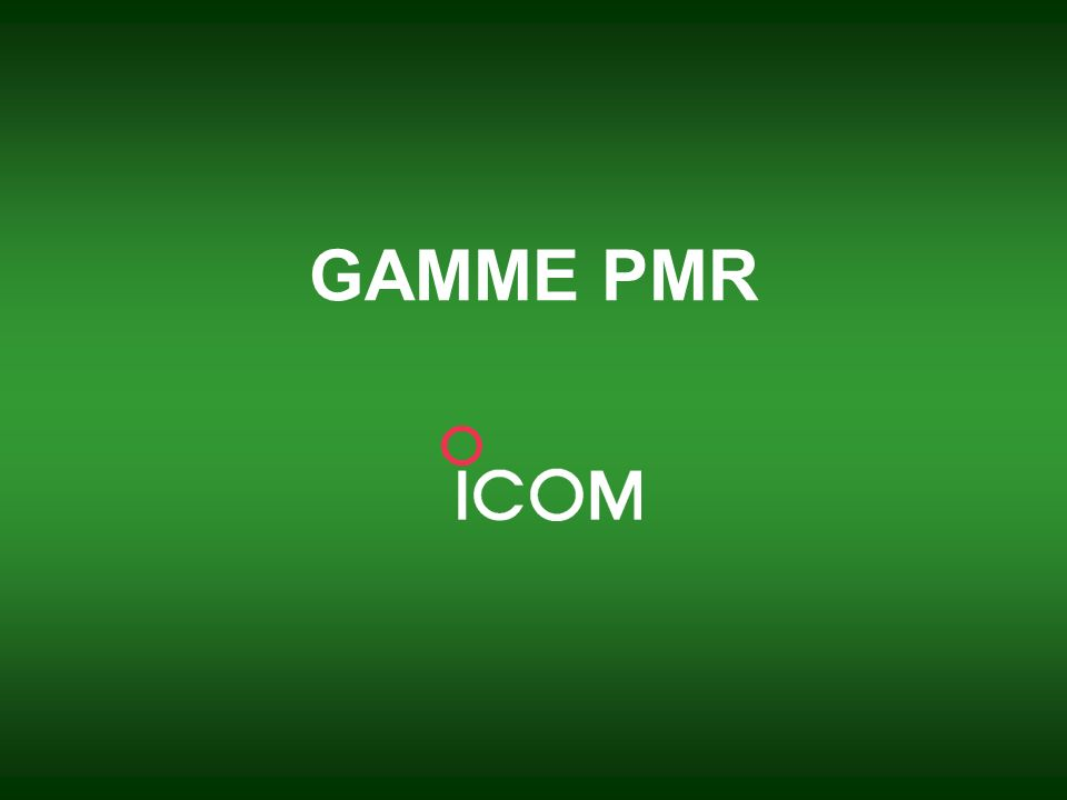 GAMME PMR