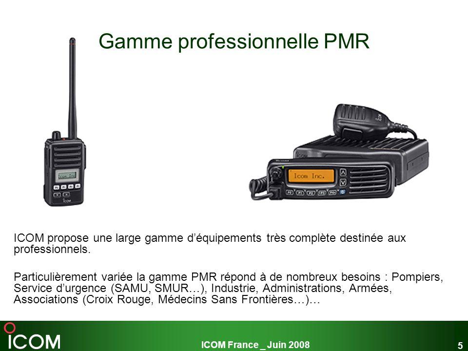 Gamme professionnelle PMR
