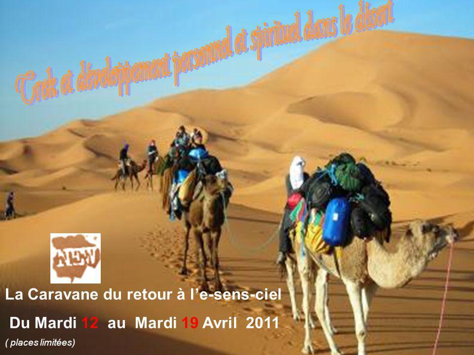 Trek et développement personnel et spirituel dans le désert