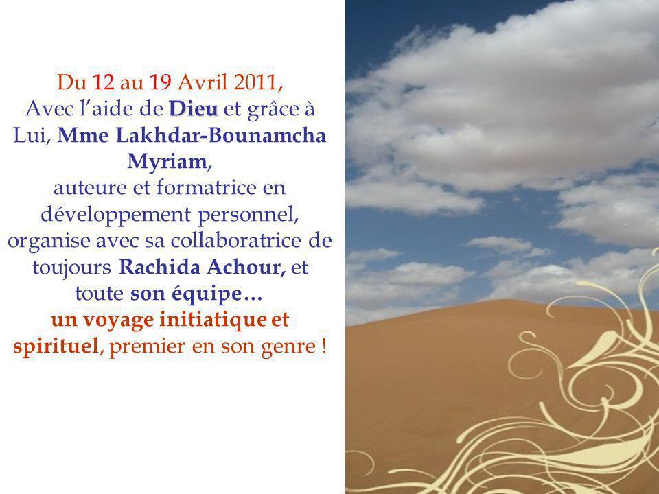 Avec l'aide de Dieu et grâce à Lui, Mme Lakhdar-Bounamcha Myriam,