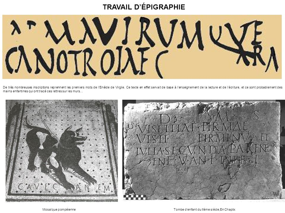 Tombe d'enfant du IIème siècle,En Chaplix