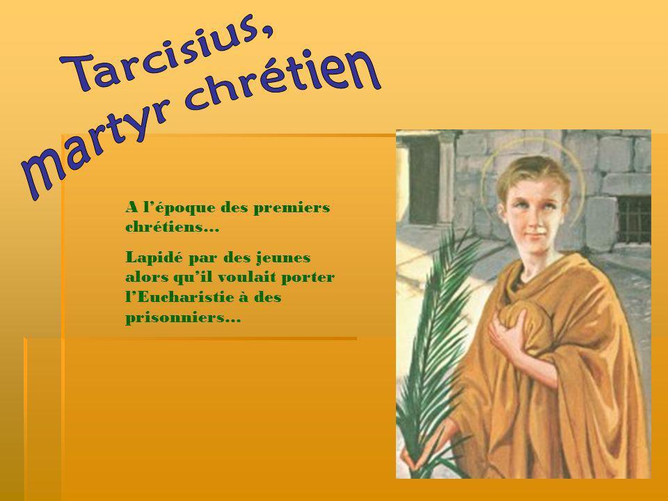 Tarcisius, martyr chrétien