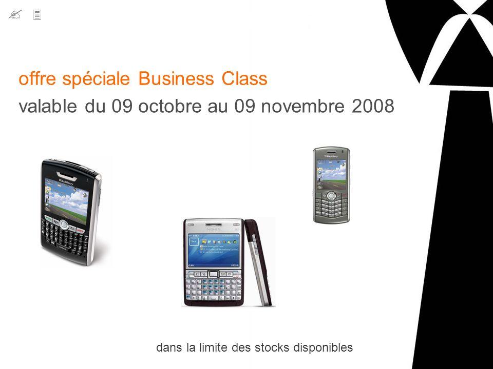 offre spéciale Business Class
