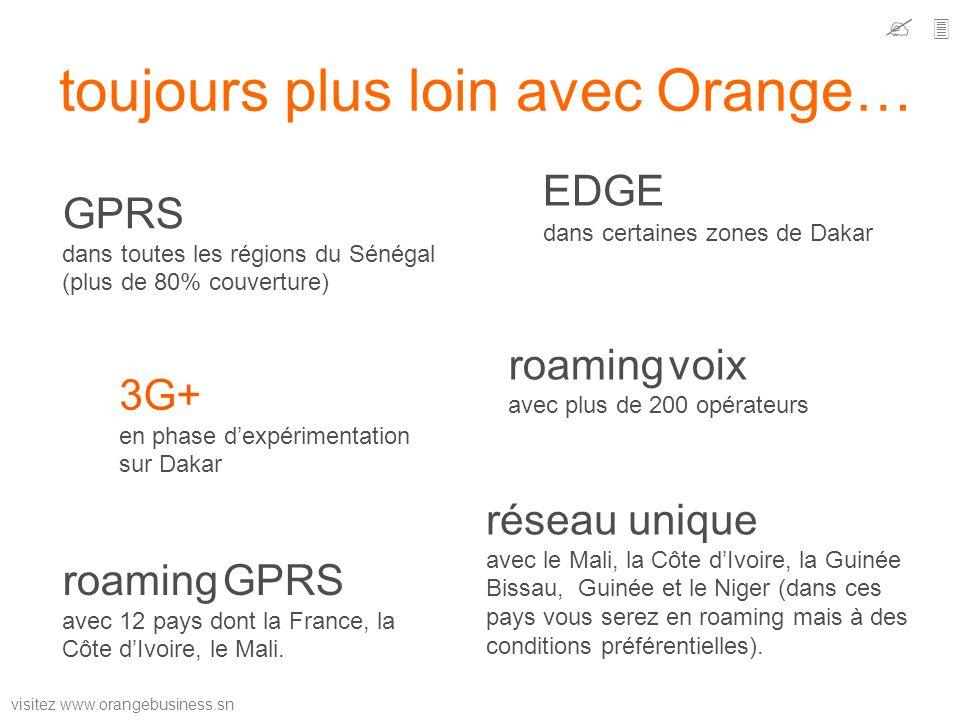toujours plus loin avec Orange…