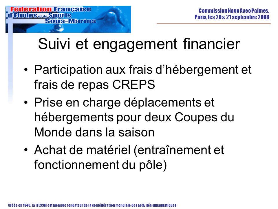 Suivi et engagement financier