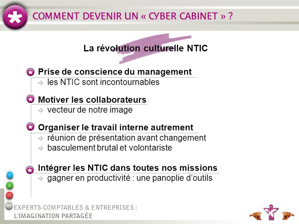 La révolution culturelle NTIC