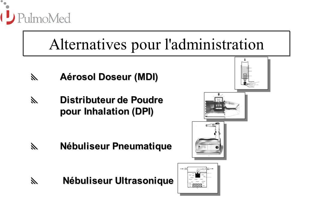 Alternatives pour l administration