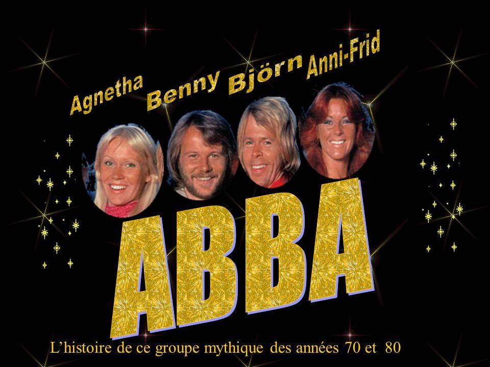 ABBA Anni-Frid Björn Benny Agnetha