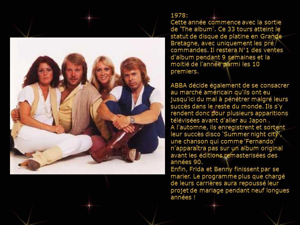 1978: Cette année commence avec la sortie de The album