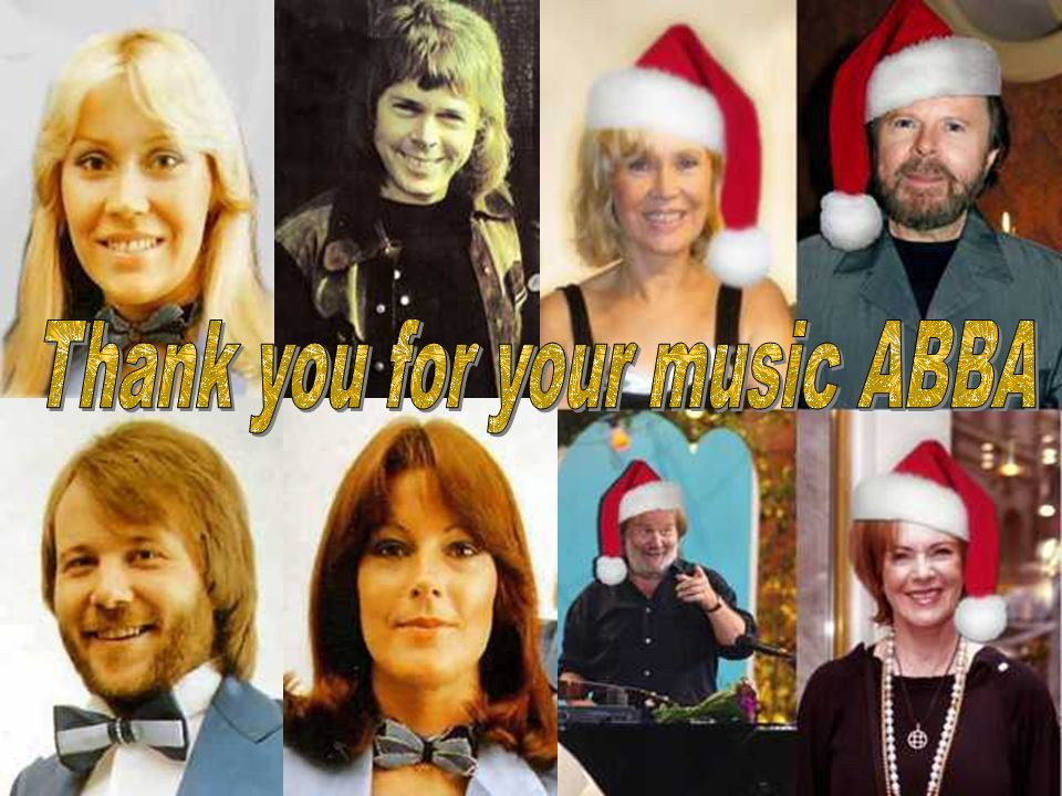 Thank you for your music ABBA